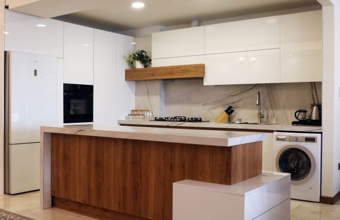 کابینت مدرن آشپزخانه تیپ 1 (آقای توانایی)